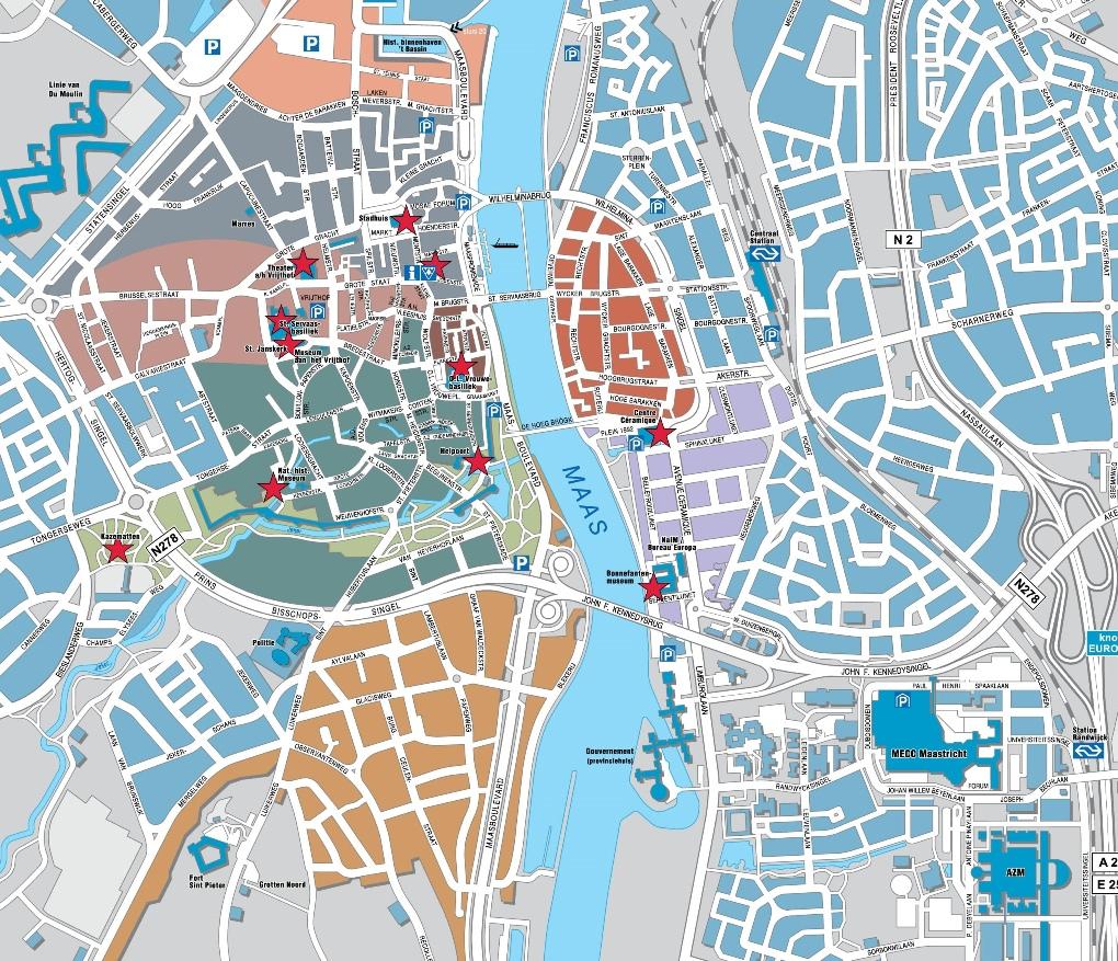Maastricht map